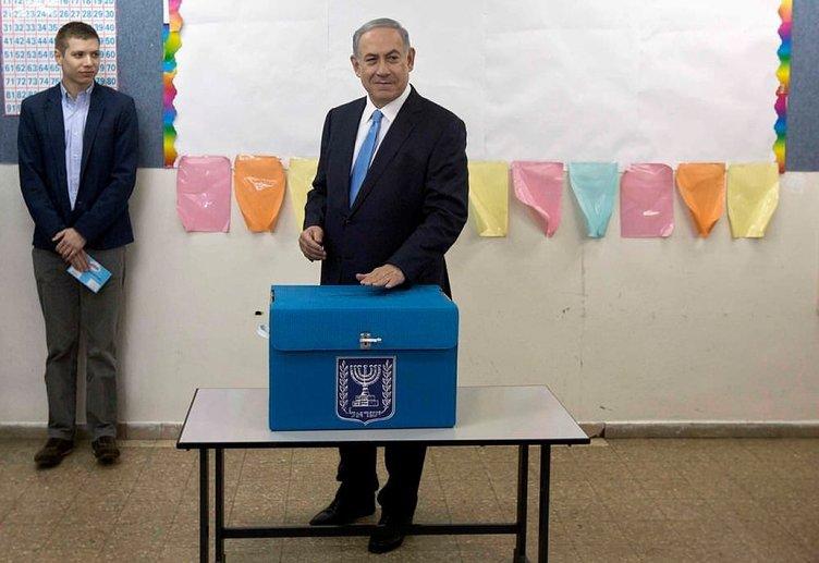 İsrail'de seçim için sandık başında