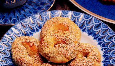 Mahlepli Çörek