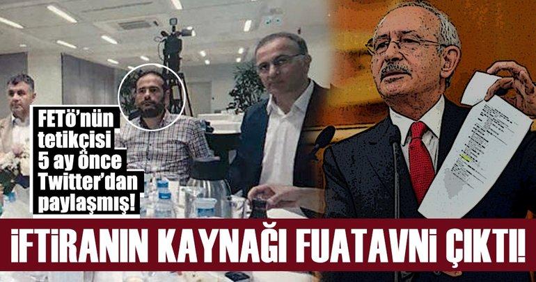 Kılıçdaroğlu'nun belgeleri FETÖ'den aldığının kanıtı