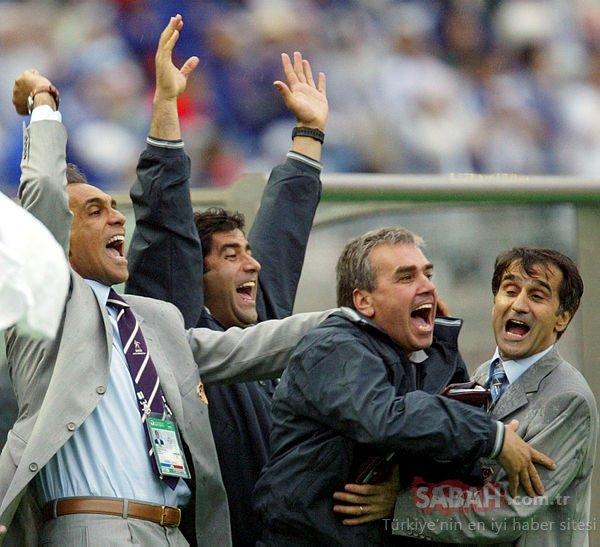 A Milli Takım'ın yeni teknik direktörü Şenol Güneş'in 2002'den kareleri