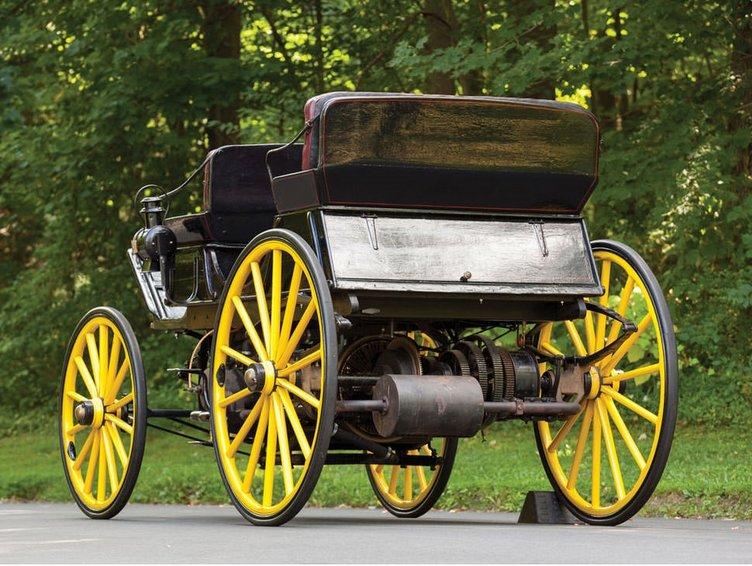 İşte dünyanın ilk hibrit otomobili