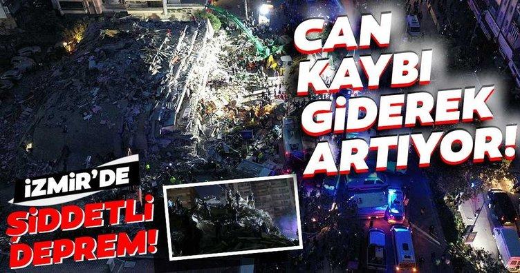 SON DAKİKA: İzmir'deki deprem sonrası 4 kişi hayatını kaybetti 150'den fazla kişi yaralandı! Deprem sonrası enkaz altında kalanlar var...