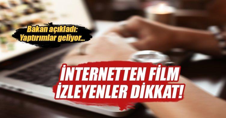 İnternetten korsan film izleyenler dikkat! Yaptırımlar geliyor...