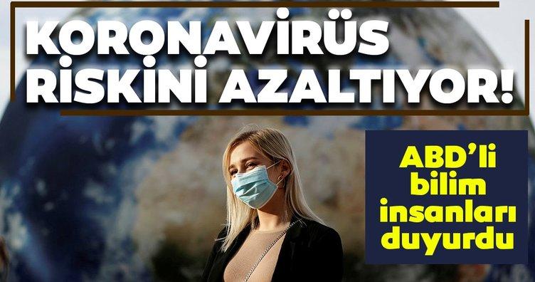 Son dakika haberi: ABD'de çarpıcı coronavirüs araştırması! Coronavirüs riskini azaltıyor