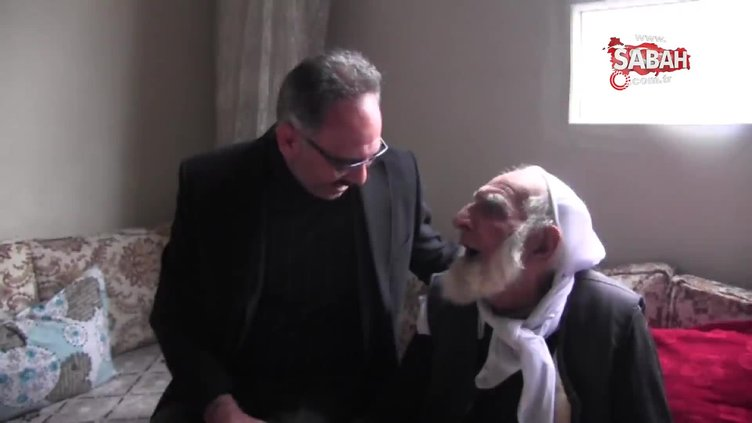 108 yaşındaki Ali Çevik, Cumhurbaşkanı Erdoğan için dua etti