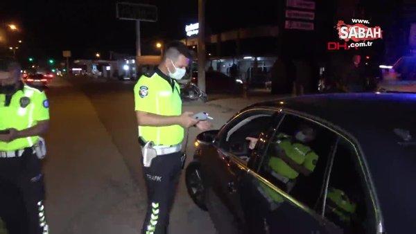 Düzce'de alkollü araç kullanan avukat, ceza yazan polislere isim sordu