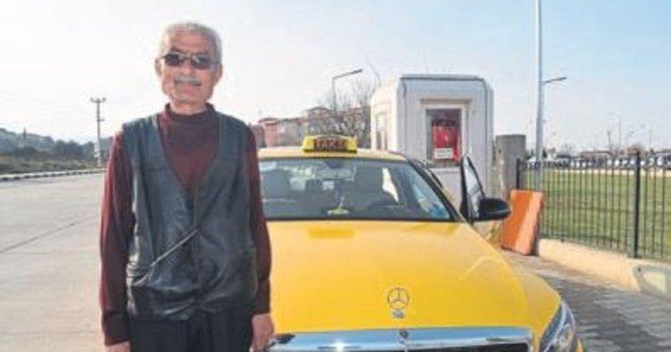 Alaşehir'in en lüks taksisi