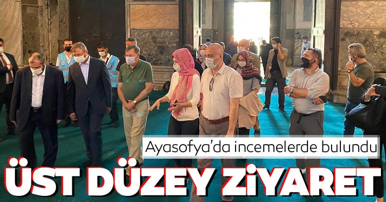 ABD Ankara Büyükelçisi Satterfield Ayasofya Camii'nde!