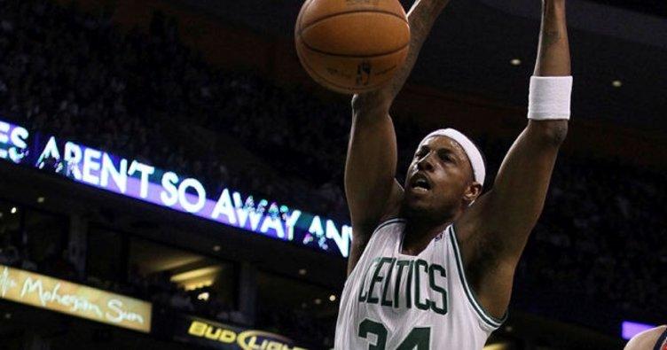 Pierce, Boston Celtics'te bıraktı