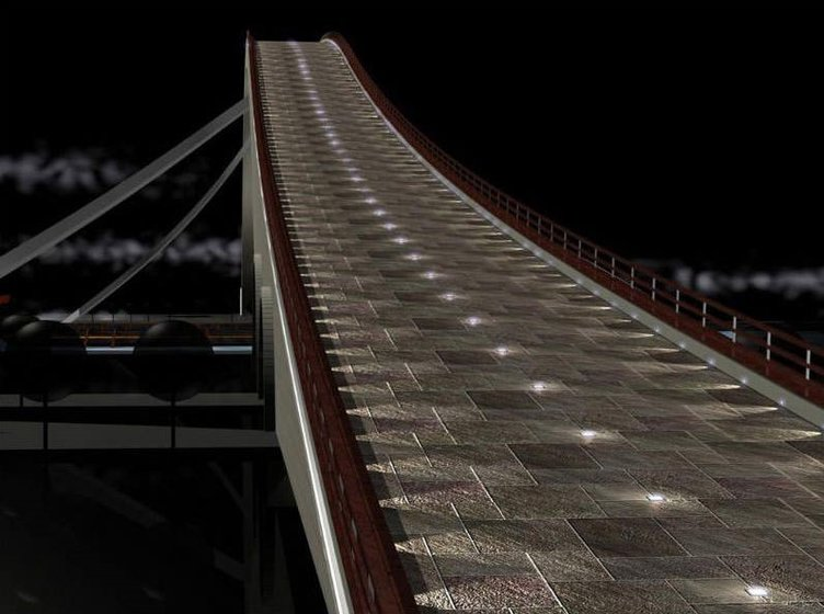 İstanbul'a Leonardo Da Vinci Köprüsü
