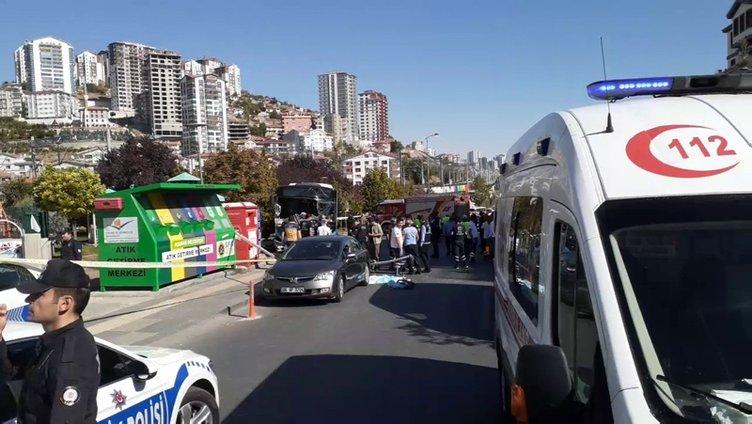 Son dakika: Ankara'da kaza: 3 ölü!