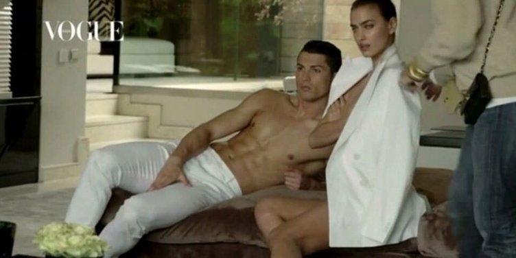 Ronaldo ve Shayk'dan cesur poz