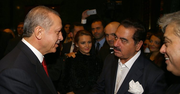 Tatlıses'ten Cumhurbaşkanı Erdoğan'a övgü dolu sözler