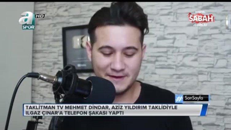 Ünlüleri taklit ederek ünlüleri şakalayan Mehmet Dindar, ABD'li rakibi ile canlı yayında düello yapacak!