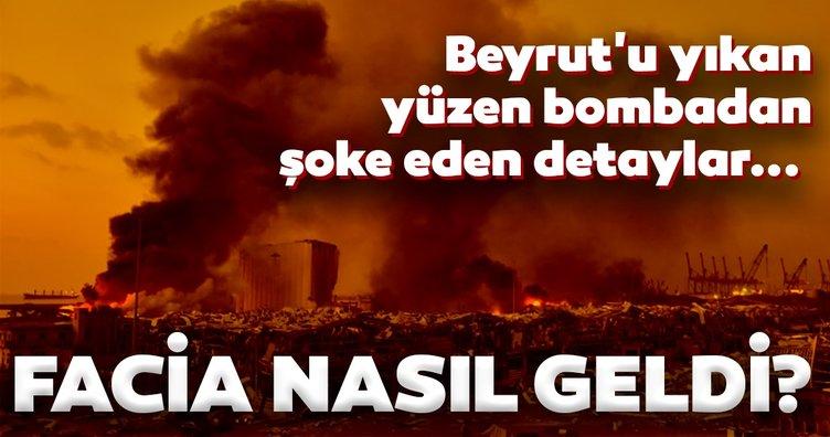 Beyrut'u yıkan amonyum nitrat limana nasıl geldi? Lübnan'daki patlamaya neden olan o gemi hakkında şoke eden detaylar...