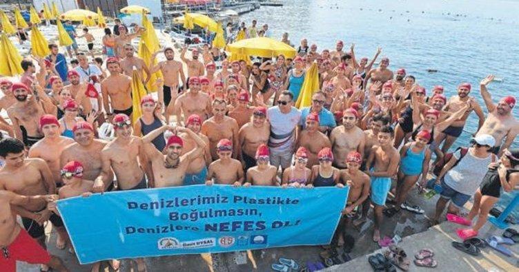 Antalyalılar denizle buluştu