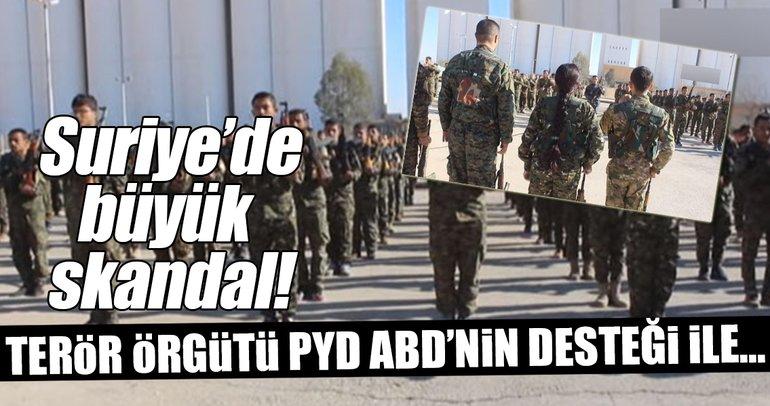 ABD ile PYD/PKK'dan sözde ordu hazırlığı!