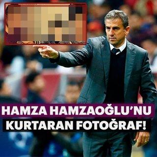 Hamza Hamzaoğlu'nu kurtaran fotoğraf