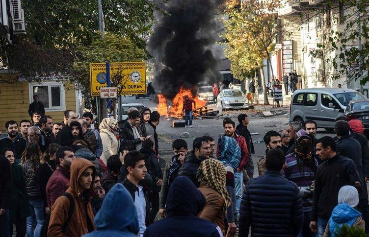 Diyarbakır'da eylem çağrısı sokakları savaş alanına çevirdi!