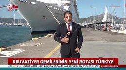1553 yolculu dev kruvaziyer gemisi Türkiye'de