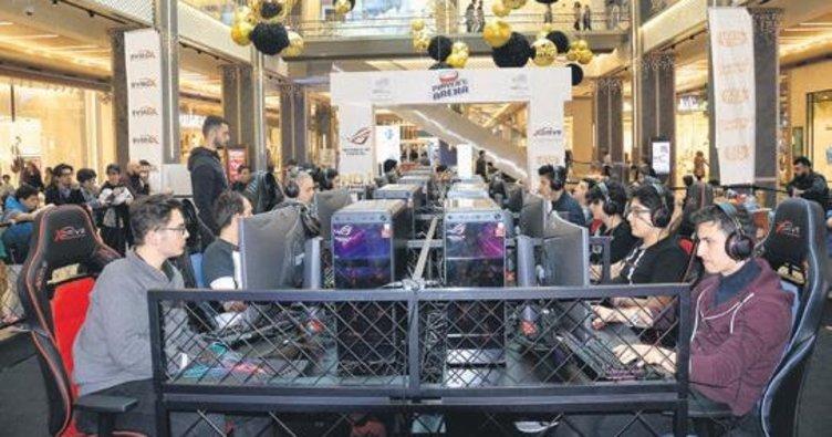 PUBG turnuvası heyecanı yaşandı