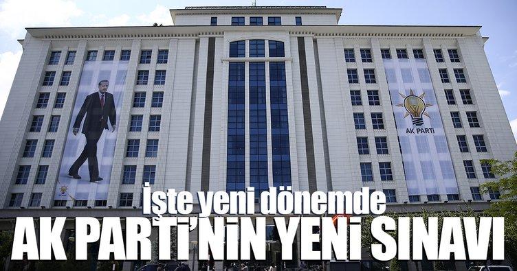 AK Parti'de yeni dönemin sınavı: Toplumun merkezi...