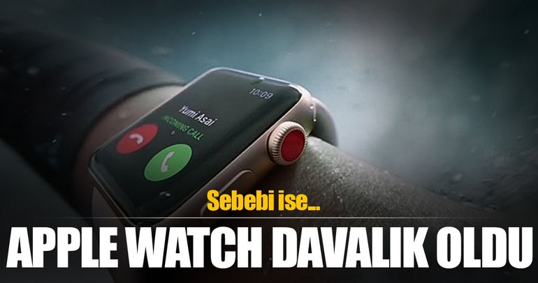 Apple Watch'a dava açıldı!