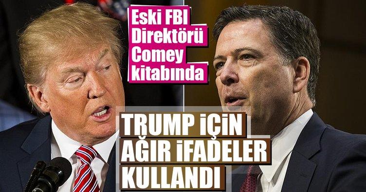 Eski FBI Direktörü Comey kitabında Trump'ı hedef aldı