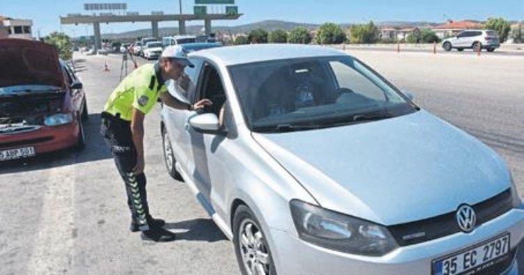 Kural tanımayan sürücülere ceza