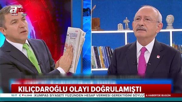Kemal Kılıçdaroğlu, FOX TV'de Külliye'deki CHP'li kumpasına böyle sahip çıktı!