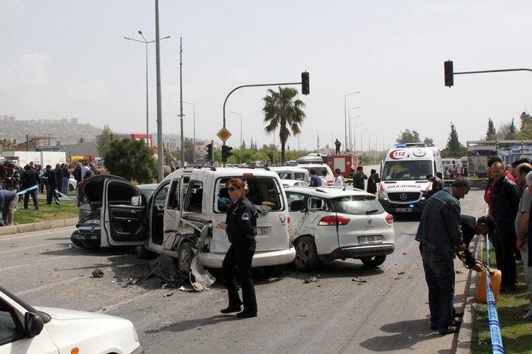 Antalya'da kamyon terörü!
