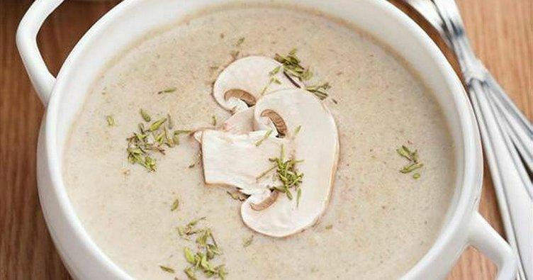 Mantar çorbası nasıl yapılır? – İşte mantar çorbası tarifi