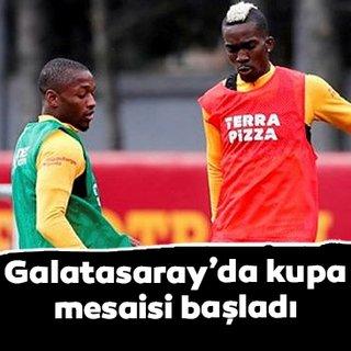 Galatasaray'da Alanyaspor maçı hazırlıkları başladı!