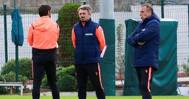 Trabzonspor'da Abdullah Avcı'nın önceliği savunma!