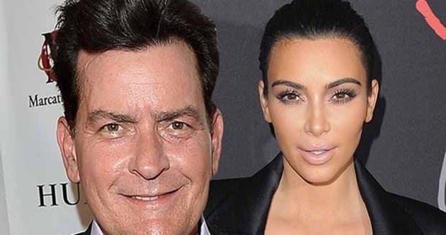 Charlie Sheen: Kardashian iğrenç ve sarkık bir çuvala benziyor