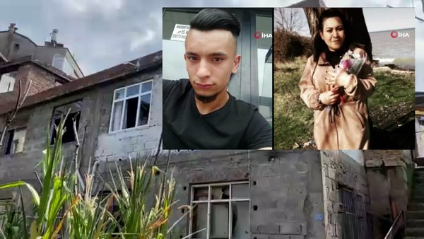 Son Dakika Haberi | Ordu'da Merve Yeşiltaş'ın benzin dökülerek yakılıp öldürüldüğü dehşet evinden ilk görüntüler  | Video