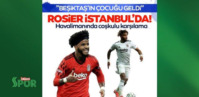 Son dakika: Beşiktaş'ın yeniden transfer ettiği Valentin Rosier İstanbul'a geldi!