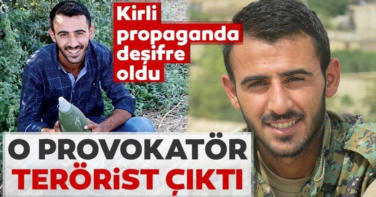 Kirli propaganda ellerinde patladı... O provokatör terörist çıktı