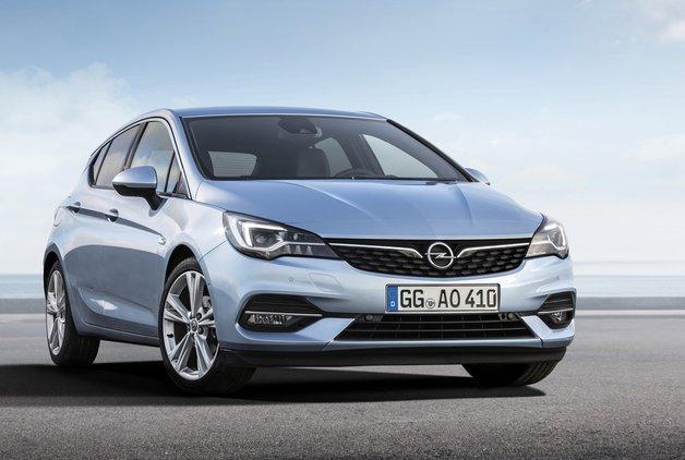 Opel Astra makyajlandı
