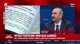 Adalet Bakanı Gül'den son dakika yeni anayasa açıklaması