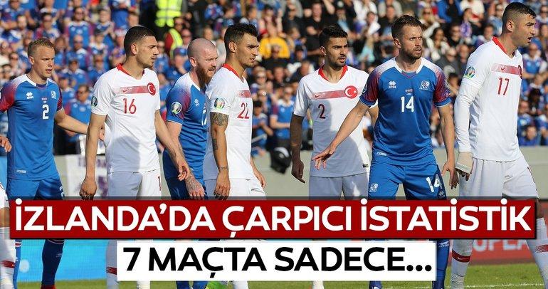 İzlanda - Türkiye maçından kareler