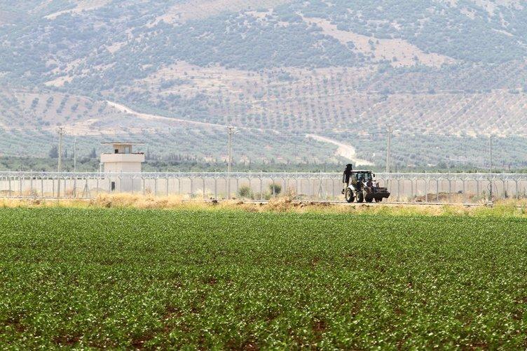 Suriye sınırındaki duvarın yarısı tamamlandı