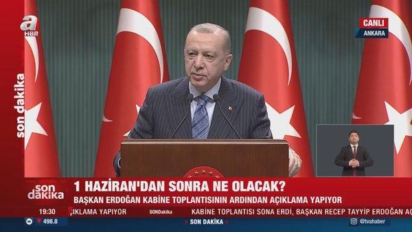 SON DAKİKA: Cumhurbaşkanı Erdoğan'dan Kabine Toplantısı kararları sonrası önemli açıklamalar