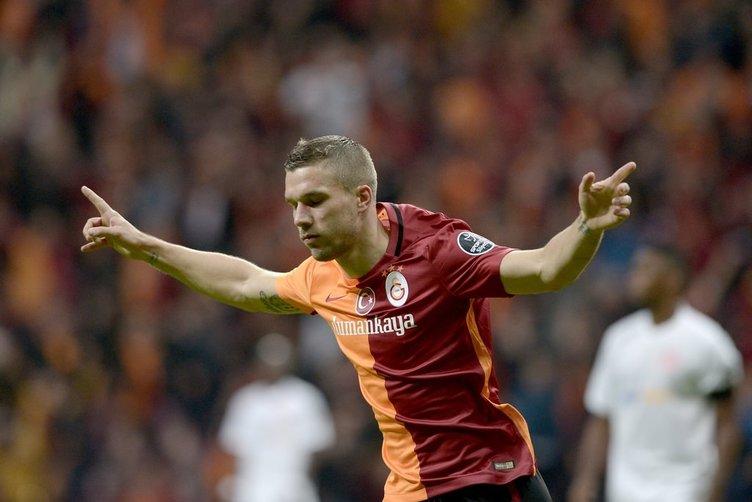 Galatasaray Antalyaspor maçının kareleri