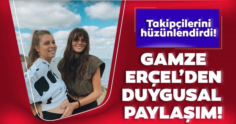 Hande Erçel'in ablası Gamze Erçel'den duygusal paylaşım!