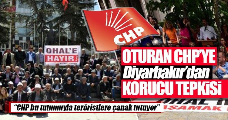 Güvenlik Korucuları ve Şehit Aileleri Konfederasyonu'ndan CHP'nin oturma eylemine tepki