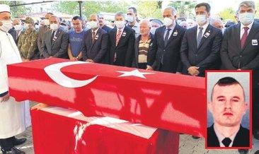 Osmaniye şehidi son yolculuğuna uğurlandı #hakkari