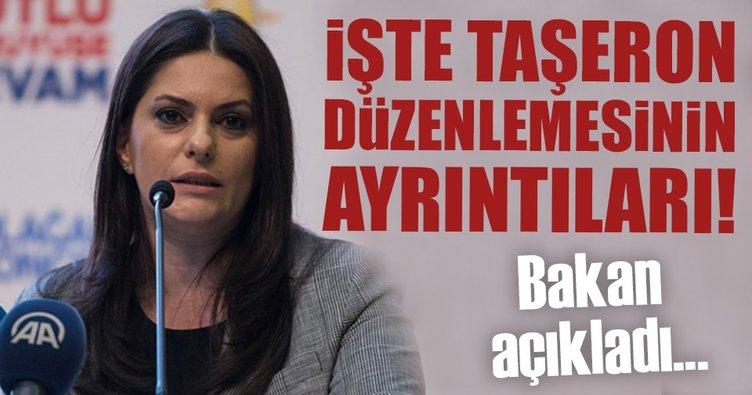Bakan Sarıeroğlu taşeron düzenlemesinin ayrıntılarını açıkladı