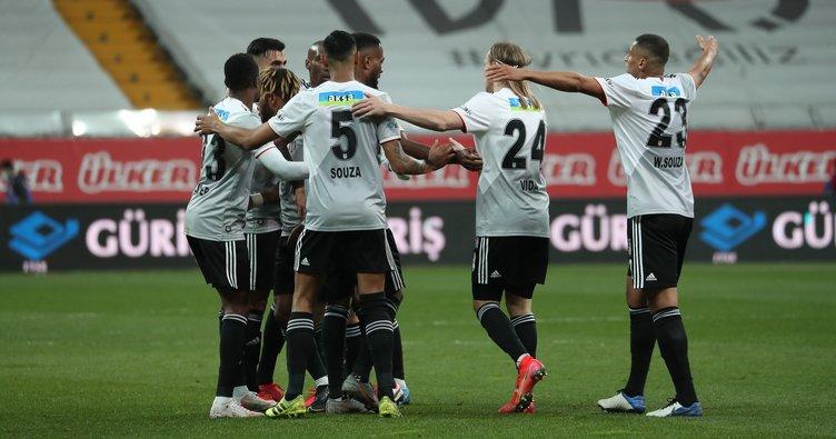 Son dakika: Beşiktaş'a son dakikalarda şok! Ankaragücü 2-0 geriden geldi beraberliği aldı…