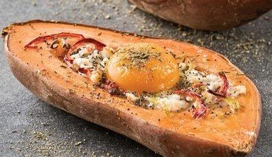 Tatlı patates doldurması